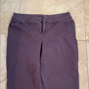 Skinny jeans charcoal color